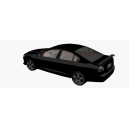 Holden Commodore VE (low poly)