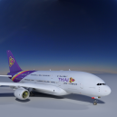 Airbus A380 Thai Airways