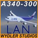 Airbus A340-300 LAN