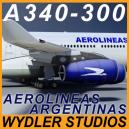 Airbus A340-300 Aerolineas Argentinas
