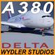 AIRBUS A380 DELTA