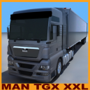 MAN TGX XXL with trailer